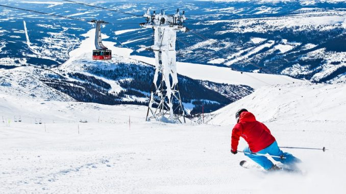 På ski i Åre